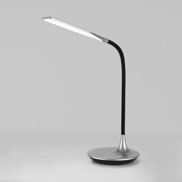 Светодиодная настольная лампа с сенсорным управлением 80422/1 серебристый